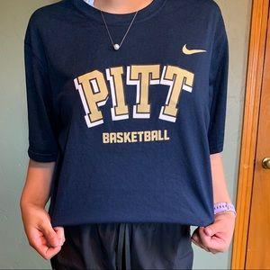 Nike Tops - Pitt Basketball Tshirt